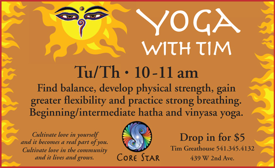 Yoga w Tim flyer 2-up